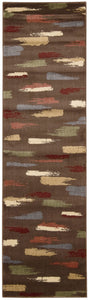 Nourison Expressions Chocolate Area Rug XP10 CHO