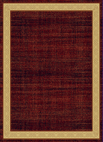 Dynamic Rugs Yazd Red Modern Rectangle Area Rug