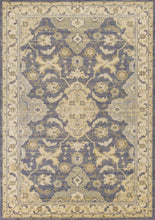 Load image into Gallery viewer, Kas Rugs Zarepath 7521 Blue/Beige Polynesian Area Rug