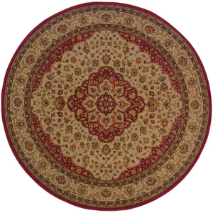 Oriental Weavers Allure 011D1 Red/Gold Oriental Area Rug