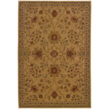 Load image into Gallery viewer, Oriental Weavers Allure 013C1 Beige/Red Floral Area Rug