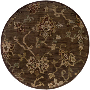 Oriental Weavers Allure 054C1 Brown/Green Floral Area Rug