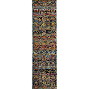 Oriental Weavers Andorra 6836C Multi/ Blue Abstract Area Rug