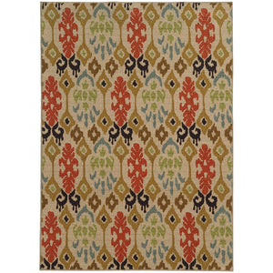Oriental Weavers Arabella 15765 Beige/Multi Abstract Area Rug