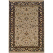 Load image into Gallery viewer, Oriental Weavers Ariana 2153D Blue/Brown Floral Area Rug
