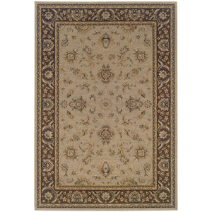 Oriental Weavers Ariana 2153D Blue/Brown Floral Area Rug