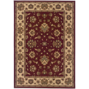 Oriental Weavers Ariana 623V3 Red/Ivory Floral Area Rug