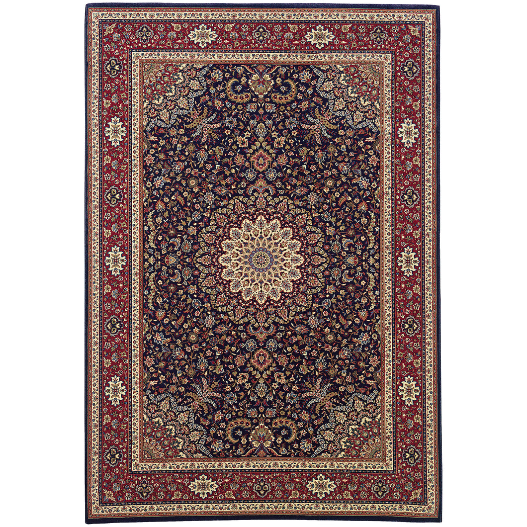 Oriental Weavers Ariana 095B3 Blue/Red Oriental Area Rug