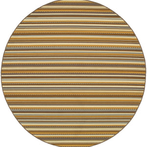 Oriental Weavers Bali 1001J Grey/Gold Stripe Area Rug
