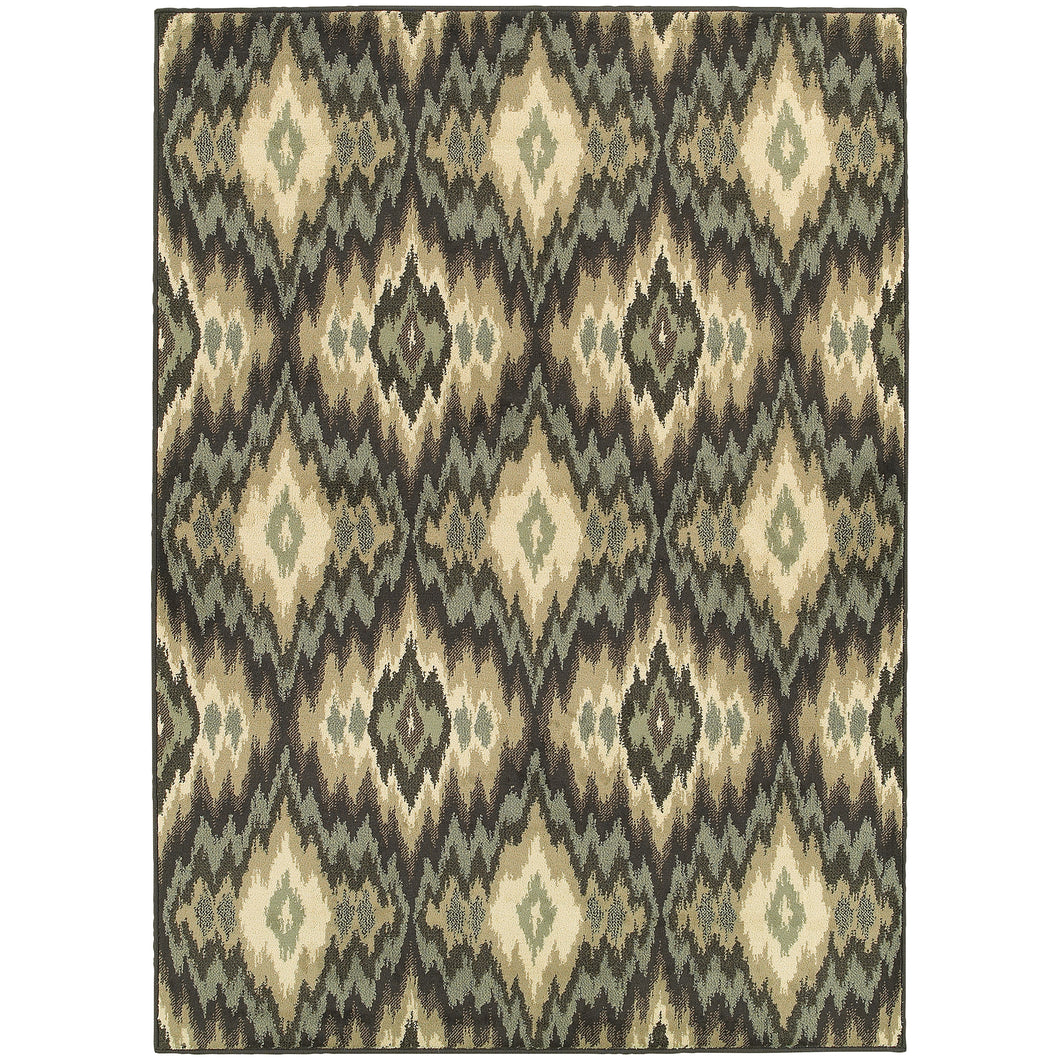 Oriental Weavers Brentwood 531K9 Ivory/Blue Abstract Area Rug