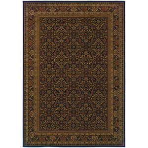 Oriental Weavers Cambridge 180N2 Black/Red Oriental Area Rug