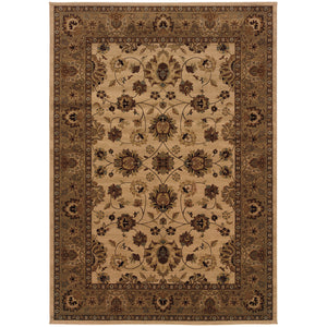 Oriental Weavers Cambridge 530W2 Ivory/Blue Oriental Area Rug