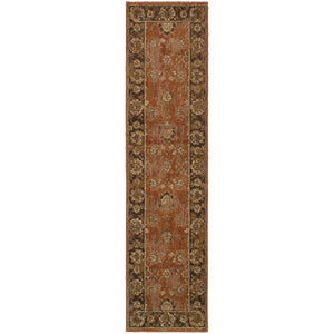 Oriental Weavers Casablanca 4465E Orange/Brown Oriental Area Rug