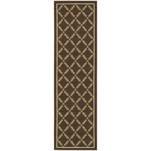 Oriental Weavers Caspian 6997N Brown/Ivory Geometric Area Rug