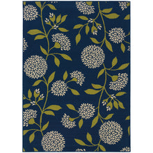 Load image into Gallery viewer, Oriental Weavers Caspian 8327L Blue/Green Floral Area Rug