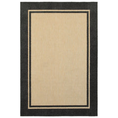 Oriental Weavers Cayman 5594K Sand/ Charcoal Border Area Rug
