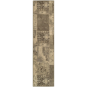 Oriental Weavers Chloe 501N4 Brown/Tan Geometric Area Rug