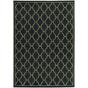 Oriental Weavers Ella 5186I Navy/Light Grey Geometric Area Rug
