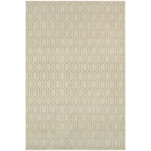 Oriental Weavers Ellerson 8021I Ivory/Grey Geometric Area Rug