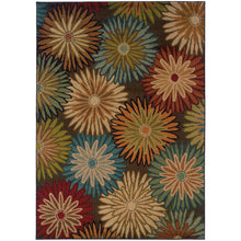 Load image into Gallery viewer, Oriental Weavers Emerson 2820A Brown/Beige Floral Area Rug