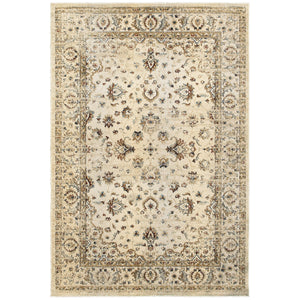Oriental Weavers Empire 114W4 Ivory/ Gold Oriental Area Rug