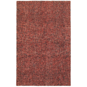 Oriental Weavers Finley 86001 Red/ Rust Solid Area Rug