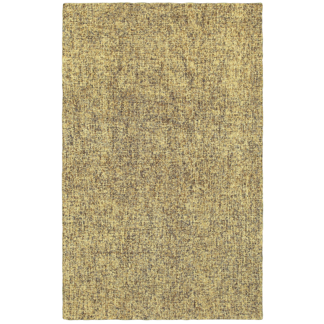 Oriental Weavers Finley 86004 Grey/ Gold Solid Area Rug