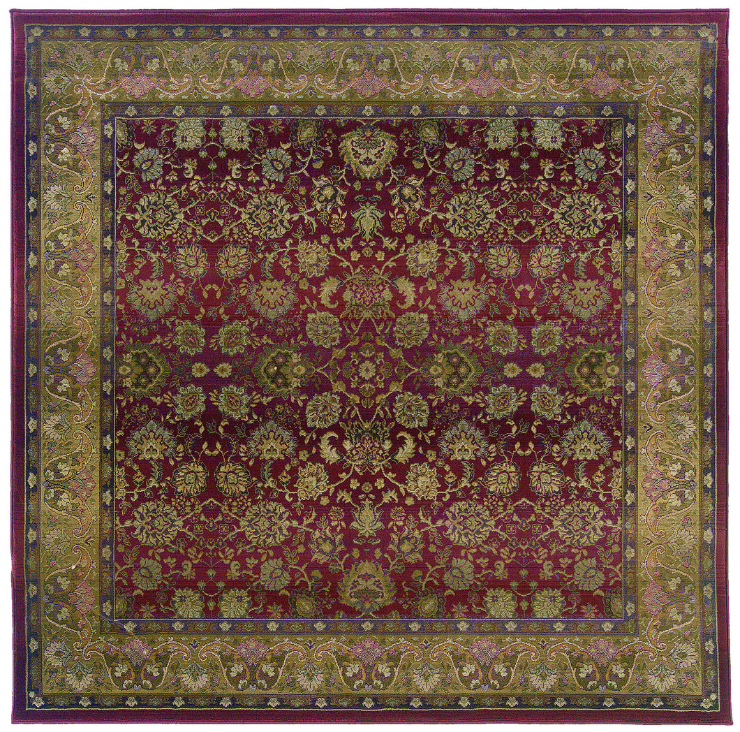 Oriental Weavers Generations 3434R Red/Beige Oriental Area Rug