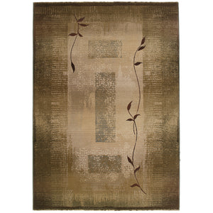 Oriental Weavers Generations 544G1 Green/Beige Border Area Rug
