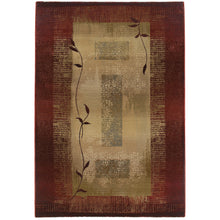 Load image into Gallery viewer, Oriental Weavers Generations 544X1 Red/Beige Border Area Rug