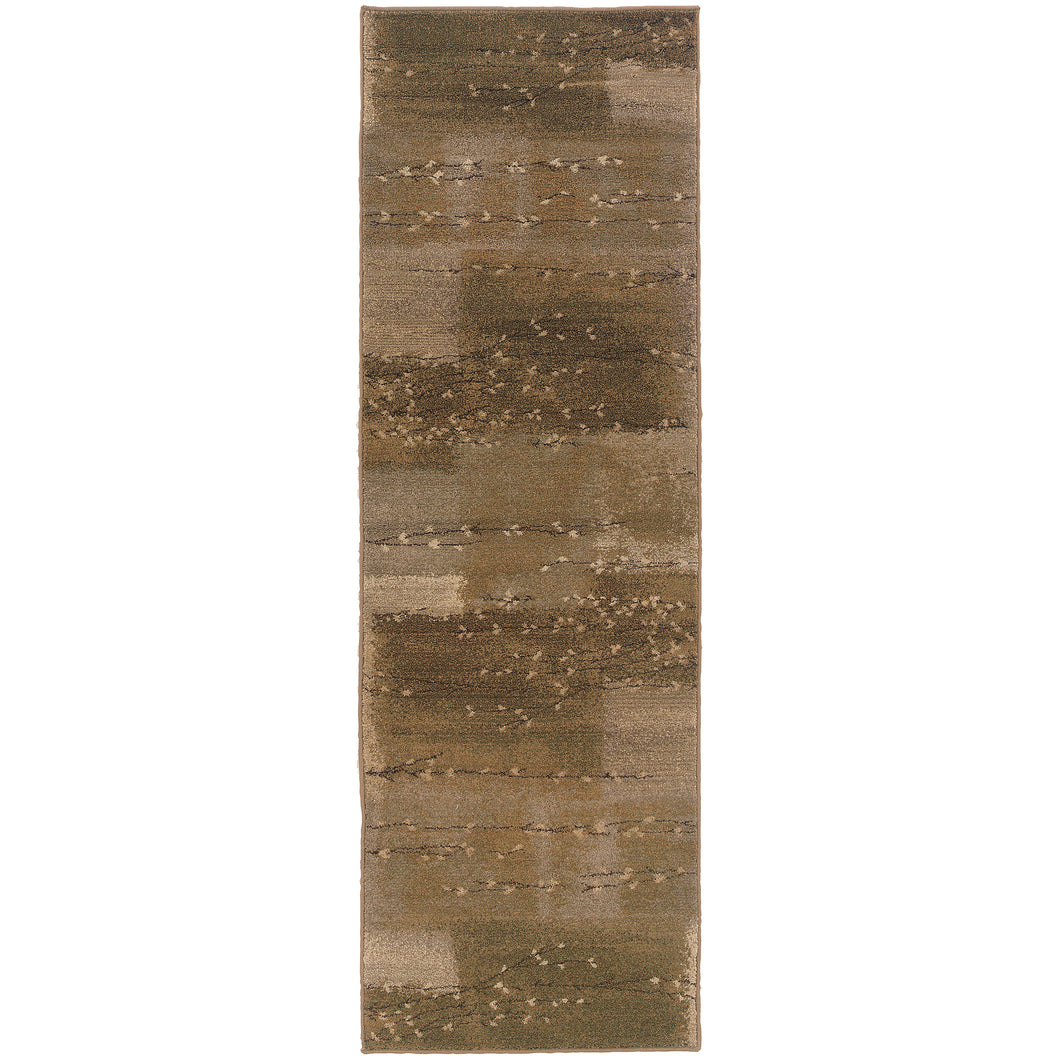 Oriental Weavers Genesis 908A1 Tan/Beige Abstract Area Rug