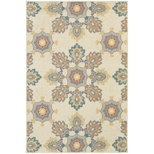 Load image into Gallery viewer, Oriental Weavers Hampton 078W5 Ivory/Grey Floral Area Rug