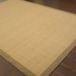 Oriental Weavers Lanai 525D7 Beige/Brown Border Area Rug