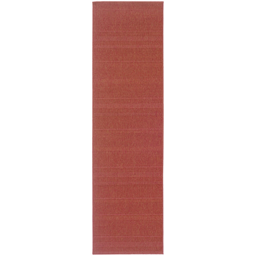 Oriental Weavers Lanai 781C8 Red Solid Area Rug
