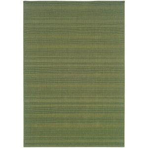 Oriental Weavers Lanai 781F6 Green Solid Area Rug