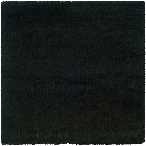 Oriental Weavers Loft Collection 520K4 Black Solid Area Rug