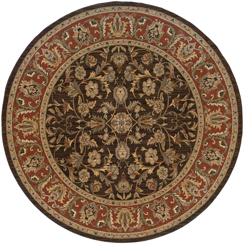 Oriental Weavers Nadira 042A2 Brown/Rust Oriental Area Rug
