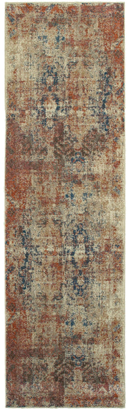 Oriental Weavers Pasha 521x6 Beige Multi Distressed Area