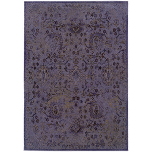 Oriental Weavers Revival 3692E Purple/Beige Oriental Area Rug