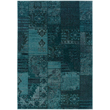 Load image into Gallery viewer, Oriental Weavers Revival 501G2 Teal/Grey Oriental Area Rug