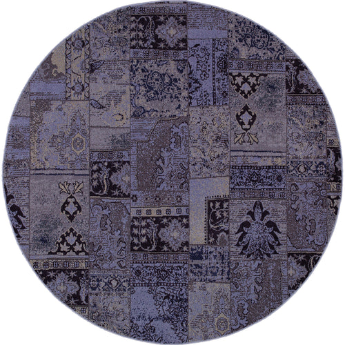 Oriental Weavers Revival 501L2 Purple/Grey Oriental Area Rug
