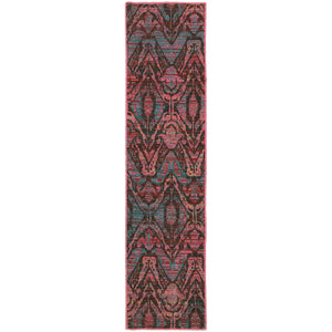 Oriental Weavers Revival 5562F Brown/Multi Abstract Area Rug