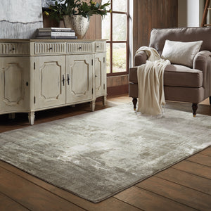 Oriental Weavers Rowan 2067W Ivory/ Grey Abstract Area Rug