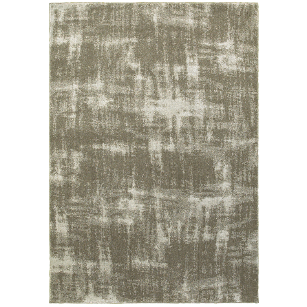 Oriental Weavers Rowan 565H4 Grey/ Ivory Abstract Area Rug