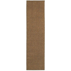 Oriental Weavers Santa Rosa 4927N Brown/ Tan Solid Area Rug