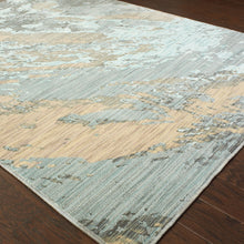Load image into Gallery viewer, Oriental Weavers Sedona 6367A Blue/Grey Abstract Area Rug