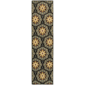 Oriental Weavers Stratton 6023A Blue/Brown Floral Area Rug