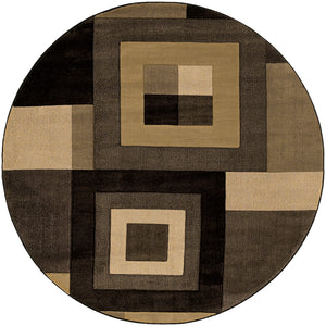 Oriental Weavers Tones 220D5 Brown/Beige Geometric Area Rug