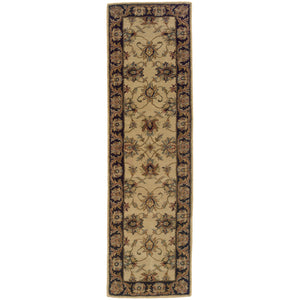 Oriental Weavers Windsor 23105 Ivory/Black Oriental Area Rug