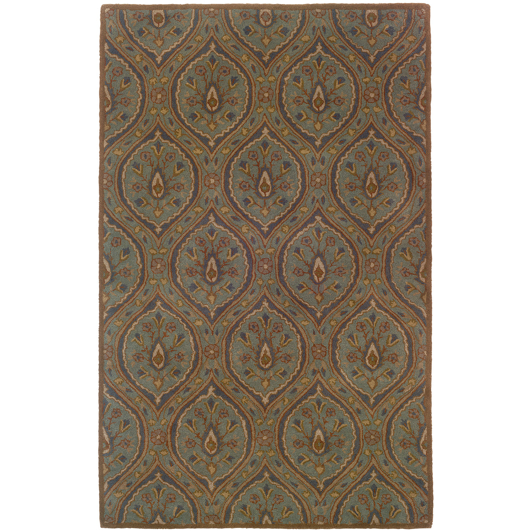 Oriental Weavers Windsor 23108 Blue/Ivory Oriental Area Rug